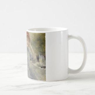 Auguste Renoir - Alphonsine Fournaise Coffee Mug