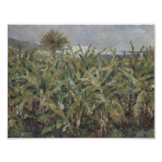 Auguste Renoir - campo de los árboles de plátano Cojinete