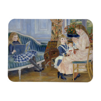 Auguste Renoir - Children's Afternoon at Wargemont Magnet