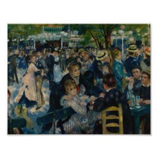 Auguste Renoir - Dance at Le Moulin de la Galette Photo Print