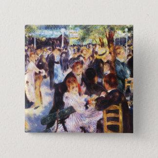 Auguste Renoir - Dance at Le moulin de la Galette Pinback Button