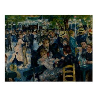 Auguste Renoir - Dance at Le Moulin de la Galette Postcard