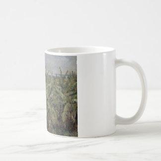 Auguste Renoir - Field of Banana Trees Coffee Mug
