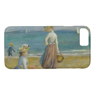 Beach Themed Auguste Renoir - Figures on the Beach iPhone 7 Case