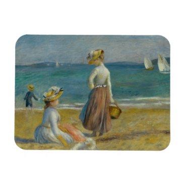Beach Themed Auguste Renoir - Figures on the Beach Magnet