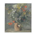 Auguste Renoir - flores en un florero Blocs
