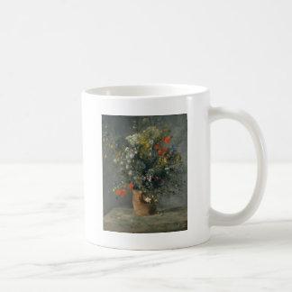 Auguste Renoir - Flowers in a Vase Coffee Mug
