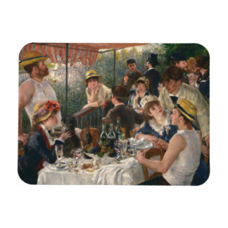 Auguste Renoir - Luncheon of the Boating Party Magnet