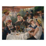 Auguste Renoir, Luncheon of the Boating Party Poster