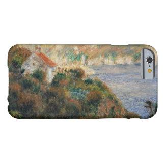 Auguste Renoir - niebla en Guernesey Funda Barely There iPhone 6
