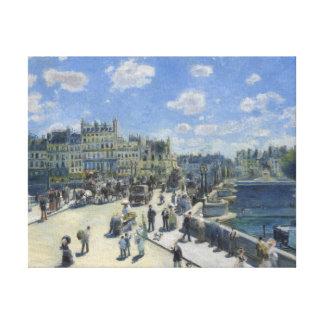 Auguste Renoir Pont Neuf Fine Art Gallery Wrap Canvas