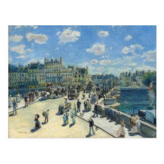 Auguste Renoir--Pont Neuf, Paris Postcard