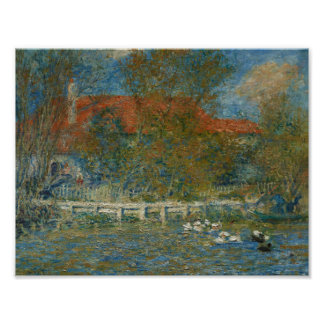 Auguste Renoir - The Duck Pond Poster