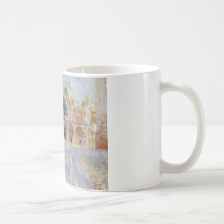 Auguste Renoir - The Piazza San Marco, Venice Coffee Mug