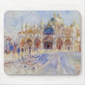 Auguste Renoir - The Piazza San Marco, Venice Mouse Pad