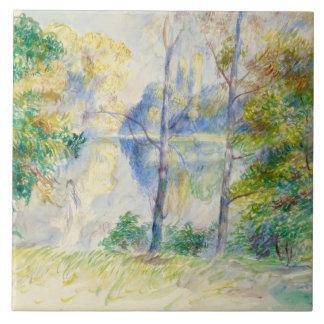 Auguste Renoir - View of a Park Ceramic Tile