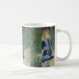 Auguste Renoir's A Girl with a Watering Can Coffee Mug