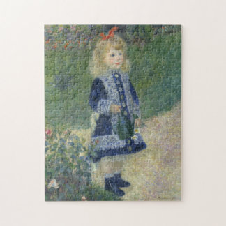 Auguste Renoir's A Girl with a Watering Can Jigsaw Puzzle