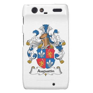 Augustin Family Crest Motorola Droid RAZR Cover