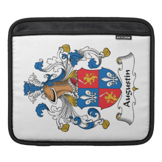 Augustin Family Crest Sleeve For iPads