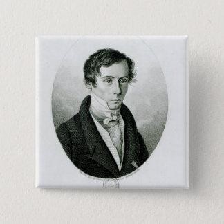 Augustin Jean Fresnel  1825 Pinback Button