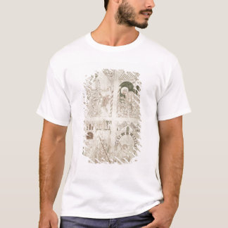 Augustine at the Feet of Christ & Scribe T-Shirt