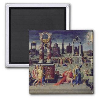 Augustus and the Tiburtine Sibyl Magnet