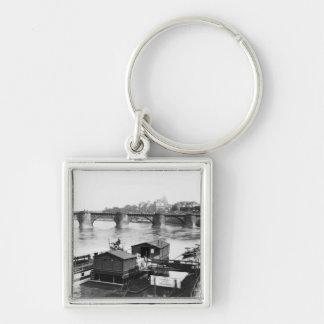 Augustus Bridge, Dresden, c.1910 Keychain