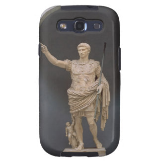 Augustus de Prima Porta, c.20 A.C. (mármol) Galaxy SIII Cárcasas