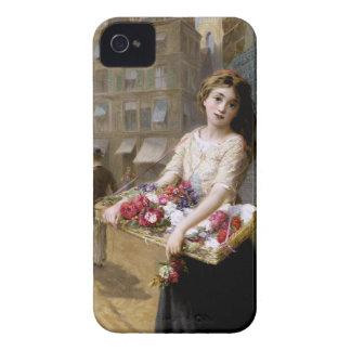 Augustus Edwin Mulready: A Street Flower Seller iPhone 4 Case-Mate Cases