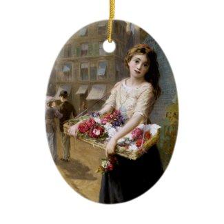 Augustus Edwin Mulready: A Street Flower Seller