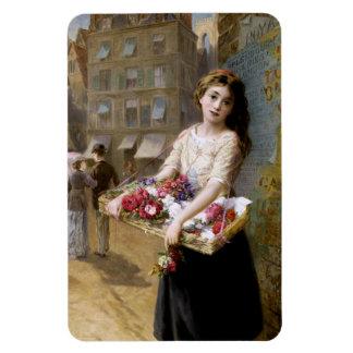 Augustus Edwin Mulready: A Street Flower Seller Magnets