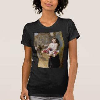 Augustus Edwin Mulready: A Street Flower Seller T-Shirt