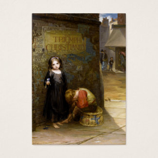 Augustus Edwin Mulready: Uncared-For Business Card