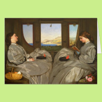 Augustus Egg The Travelling Companions CC0457 Card