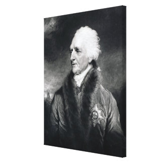 Augustus Henry Fitzroy Canvas Print