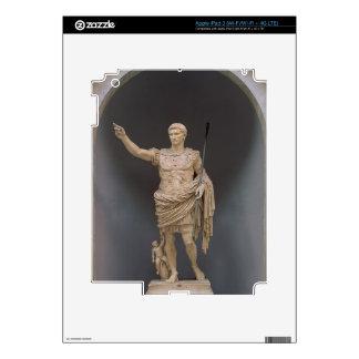 Augustus of Prima Porta, c.20 BC (marble) iPad 3 Decals