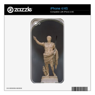Augustus of Prima Porta, c.20 BC (marble) Skin For The iPhone 4