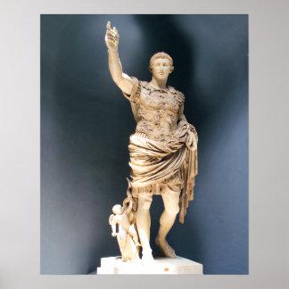 Augustus Prima Porta Poster