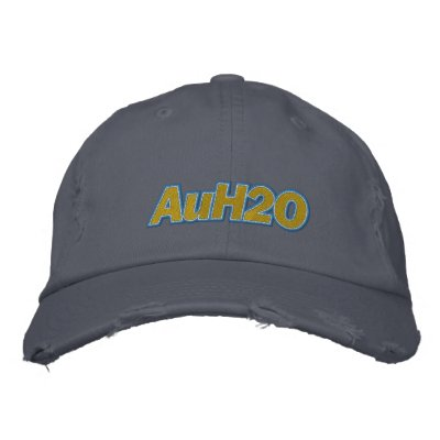 AuH2O Embroidered Hat