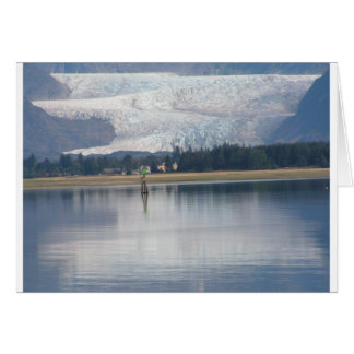 Auke Lake and Mendenhall Glacier Card