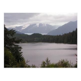 Auke Lake and Mendenhall Glacier Postcard