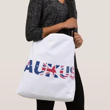 AUKUS AU UK US Security Pact Alliance Flags Crossbody Bag