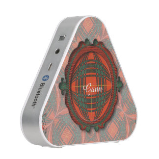 Aulay clan family Plaid Scottish kilt tartan Bluetooth Speaker