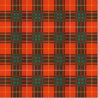 Aulay clan family Plaid Scottish kilt tartan Statuette