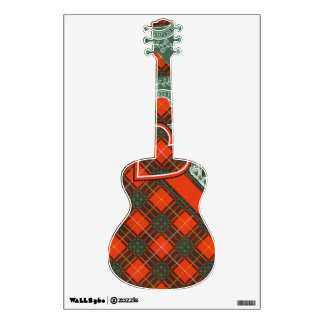 Aulay clan family Plaid Scottish kilt tartan Wall Decals