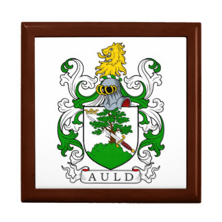 Auld Coat of Arms I Jewelry Box