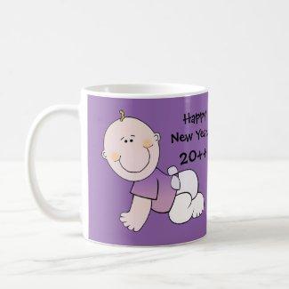Auld Lang Syne Happy New Year Celebration Classic White Coffee Mug
