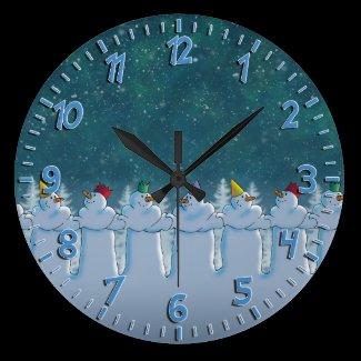 Auld Lang Syne Wall Clock