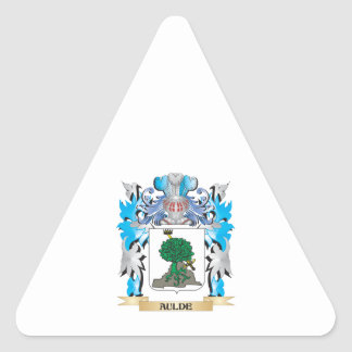Aulde Coat Of Arms Sticker